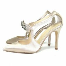 Twin-Set Simona Barbieri Pumps High Heels Beige glänzend ** EXCLUSIVE STYLE **