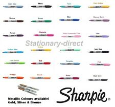 SHARPIE PEN FINE POINT BULLET TIP PERMANENT MARKER PENS NEW ALL EDITION COLOURS
