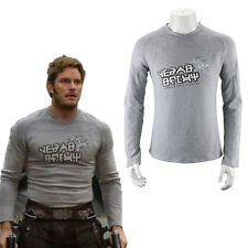 Guardians of the Galaxy 2 Starlord Shirt Peter Jason Quill Cosplay Costume New