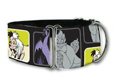 Disney Villans martingale dog collar by COLLAROLOGY
