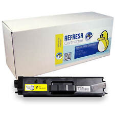 REMANUFACTURED BROTHER TN329Y YELLOW EXTRA HIGH CAPACITY LASER TONER CARTRIDGE