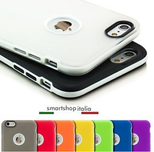 COVER Bumper Custodia Morbida Silicone TPU per iPhone 5-5S; 6-6S 4.7