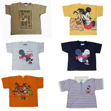 Baby T-Shirts Gr.74-92  Disney Mickey Maus Mouse Donald Duck Pluto Goofy