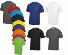 AWDis Mens T Shirt Cool Smooth JC021 T-Shirt Relaxed Fit Casual Collar Polo Top