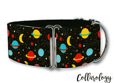 Out of space dog collar by Collarology