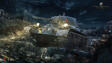 WORLD OF TANKS ACCOUNT EXCELSIOR & M22 LOCUST 1300 GOLD WOT EU OR NA