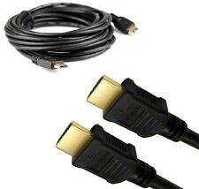 HDMI V1.4 1080p GOLD PLATED CABLE FULL 3D/HD/HDTV/LCD/PS3/XBOX 1M,1.5M,2M......