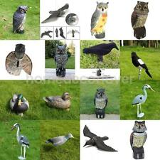 Various Realistic Decoy Weed Pest Control Garden Scarer Scarecrow Ornament