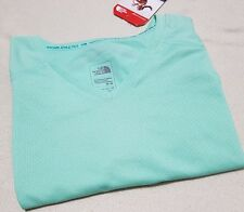 THE NORTH FACE WOMEN'S DYNAMIX TRAINING TOP T-SHIRT TEE ICED MINT  M RRP £45