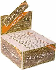 Pure Hemp Unbleached Kingsize Rolling Papers Cigarette Joint Roller Paper UK