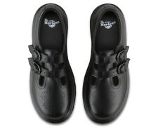 Dr Martens  8065 Mary Jane Twin Bar Black Leather Shoes
