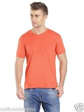 Jockey Mens V-Neck T-Shirt- 100% Premium Combed Cotton-for Leisure, Comfortwear