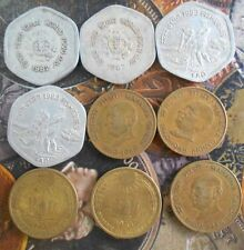 9 ALL DIFFERENT MINT SET - 20 Paise Commemorative Coins  - india