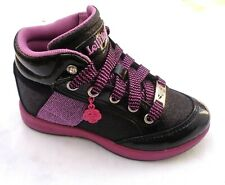 LELLI KELLY LK6712 PATENT BLACK & PURPLE PATENT BLACK HI CALIFORNIA TRAINER UK9