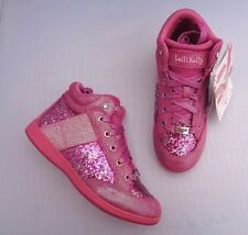 LELLI KELLY LK6712 GLITTER FUXIA PINK CALIFORNIA TRAINERS UK1/EU33