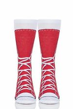 Mens and Ladies 1 Pair Ginger Fox Sneakers Novelty Cotton Socks