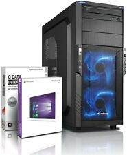 PC Quad Core Computer GAMER FX 4100 16GB NVIDIA GT710 Rechner Komplett Windows10