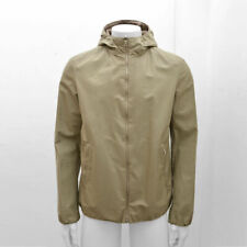 New Prada Linea Rossa Tan Kangaroo Leather Reversible Jacket Size 50 RRP £1340