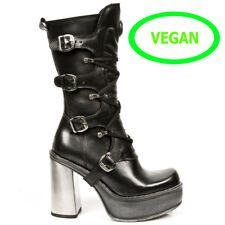 New Rock vegane Gothic EBM Alternative Metal Plateau Stiefel Boots M.9973-VC11