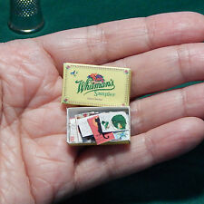 Dollhouse Miniatures Postcards Lot of 20 in Whitman Chocolate Box 1:12