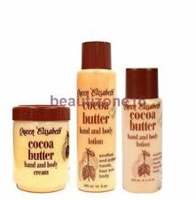 Queen Elisabeth Cocoa Butter Hand And Body Cream & Lotion - Skin Care Products
