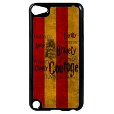 Harry Potter Gryffindor Colours Art Plastic Case for iPod 4th 5th 6th Gen D30