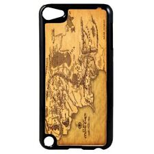 Harry Potter Middle Earth Map Plastic Case Cover for iPod 4th - 5th - 6th Gen D3