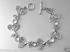 Bracelet Wimbledon Unique Hand Crafted Ladies 925 Sterling Silver Jewellery Gift