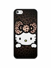 IPHONE Samsung Xperia LG HUAWEI Gato hello kitty leopardo Manga Funda apple