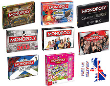 Monopoly's Special Edition's Family  Board Games - FAST & FREE DELIVERY