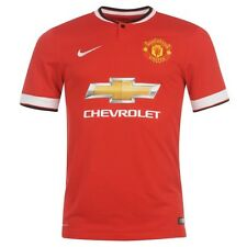 NIKE MANCHESTER UNITED Heim Maillot 2014 2015 Toutes les Tailles Rouge NEUF