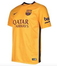 NIKE FC BARCELONE AWAY maillot 2015 2016 orange rouge