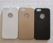 Apple iPhone 5G/5S Soft Silicon Back Cover Cases/Screen Guard