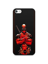 funda carcasa para iphone 4 / 4s 5s 5c 6 6s TPU Deadpool joker historietas