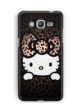 funda Samsung Galaxy s4 /s5 /s6/s7/Note/A5/7 Gato hello kitty leopardo funda