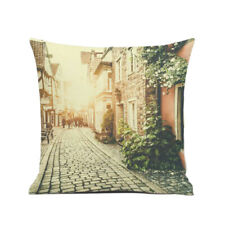 18'' Soft Flannel Square Waist Throw Pillow Cases Home Decorative Cushion Covers