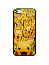 funda carcasa para iphone 4 / 4s 5s 5c 6 7 Pokemon go equipo pokédex Pikachu