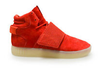 Mens Adidas Tubular Invader Strap - BB5039 - Red Trainers