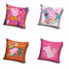 Peppa Pig Cerditos peppa Funda De Almohada Pillowcase 40 x 40 CM