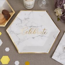 Beautiful Scripted Gold Marble Wedding Collection - Guest Book, Place Cards etc