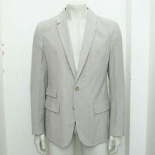 New Maison Martin Margiela Oxford Striped Seersucker Wool Blazer RRP £675 BNWT