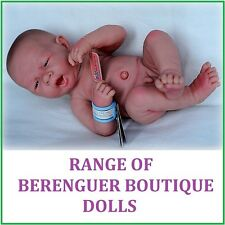 Range of ANATOMICALLY CORRECT Berenguer 14-17 in Dolls GREAT PRICE!!!
