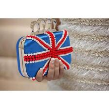 169 - Knuckle Rings Clutch With Crystal Decoration