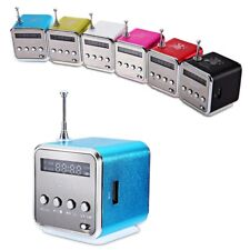 Mini Lautsprecher Angel Würfel Musik Box MP3 Player FM Radio Line-in Micro SD