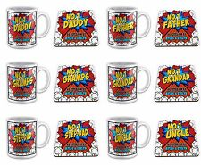 Personalised No.1... As Voted For By... Novelty Gift Mug & Coaster (Comic)