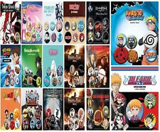 New Anime Badges 6 Pack Death Note Dragon Ballz Tokyo Ghoul Sailor Moon Hatsune