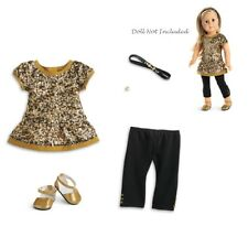 American Girl TRULY ME GOLDEN SPARKLE OUTFIT for 18