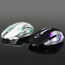 2.4GHz 2400DPI Wireless Rechargeable 6 Buttons Optical Gaming Mouse Mice