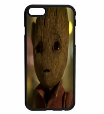 Guardians of The Galaxy Baby Groot I Am Groot Rubber Hard Case iPhone Samsung