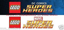 LEGO DC COMICS MARVEL SUPER HEROES MINIFIGURE COMIC STRIP (soggetti nuovi sfusi)